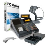 Posnet Neo EJ Plus + PC-Market + LS2208 + Argox AS-8000 + szuflada SKL